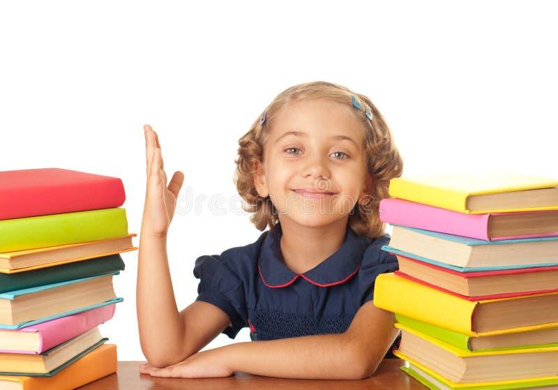 School-girl royalty free stock photo