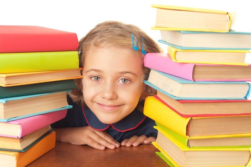 School-girl royalty free stock photography