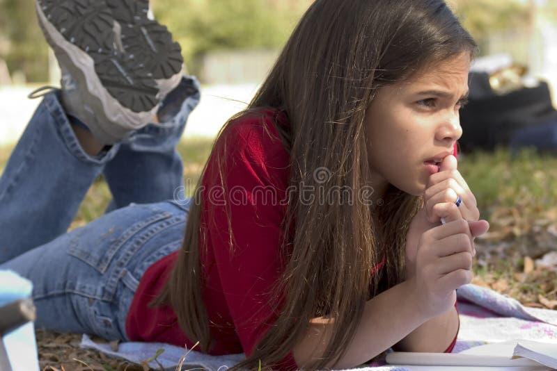 School girl royalty free stock photos