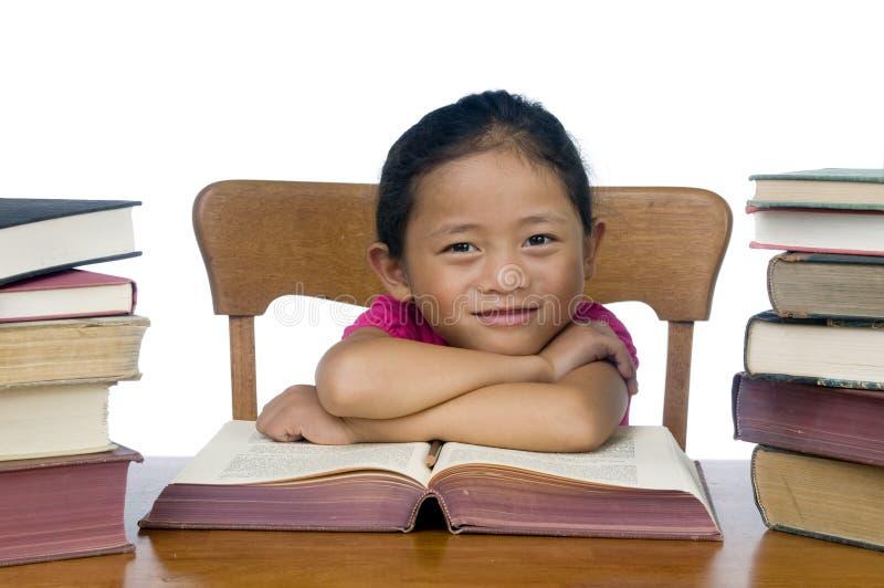 Download School Girl stock image. Image of school, pencil, cute - 6709047
