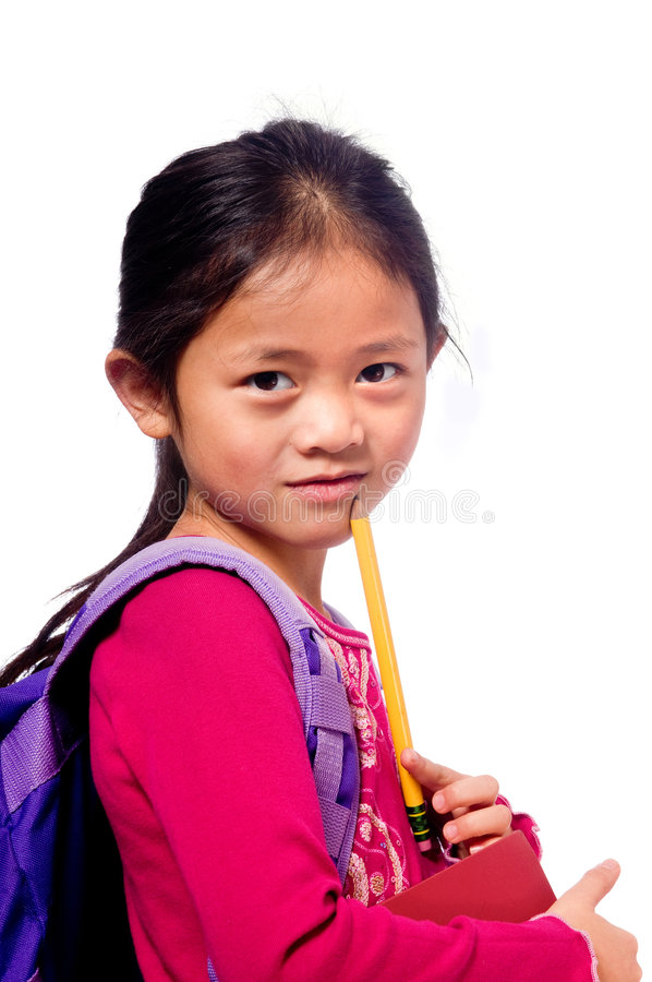 School Girl royalty free stock image