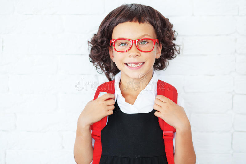 Download School girl stock photo. Image of child, clothing, human - 33550242