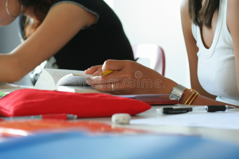 Download School girls stock photo. Image of pile, knowledge, social - 942728