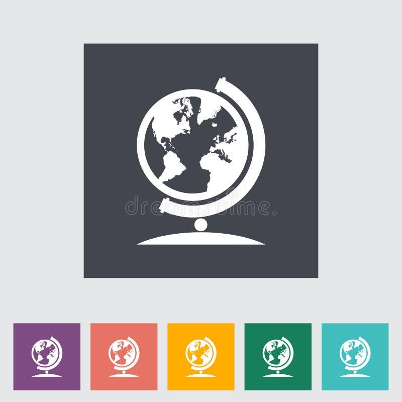 School globe vector illustration