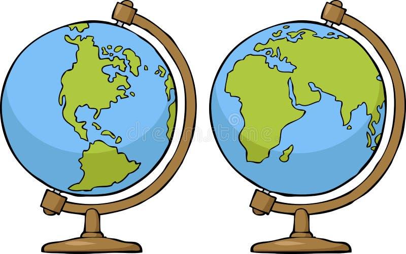 School globe stock illustration