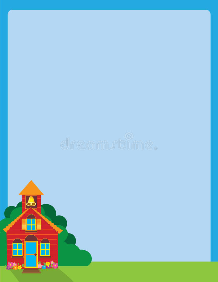 Download School House stock illustration. Image of colonial, roof - 23033392