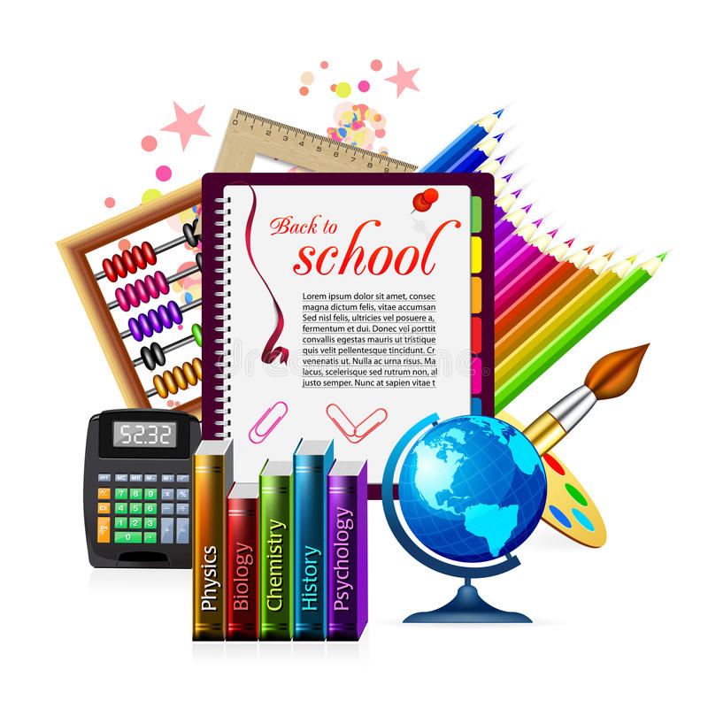 Download School icon stock vector. Illustration of geography, banner - 24294668