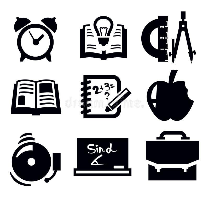 School Icon Stock Image