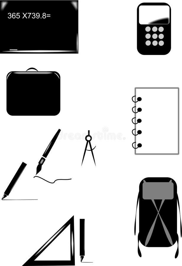 Download School Icons Stock Photo - Image: 20102080