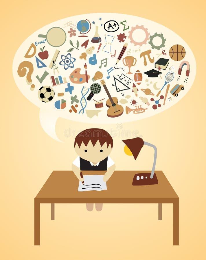 Download School Ideas stock illustration. Image of school, desk - 25659842