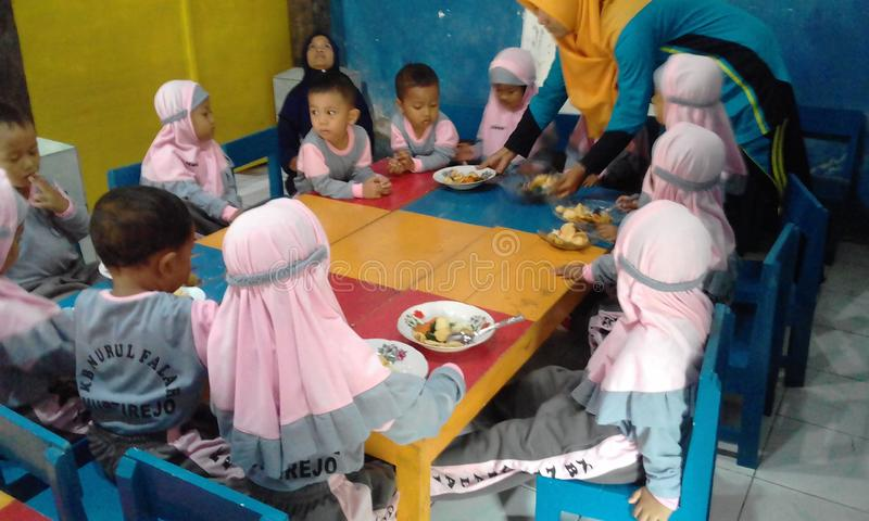 School indonesian royalty free stock image