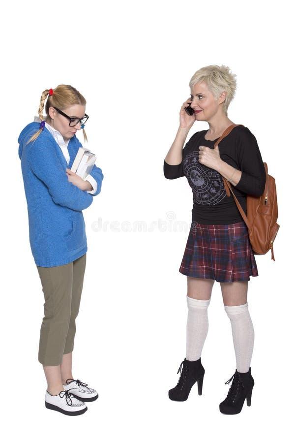 School intimidatie stock afbeeldingen
