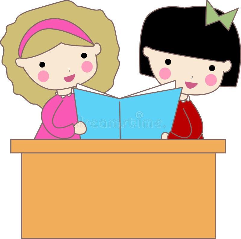 Download School kids stock vector. Image of boys, class, friends - 11771722