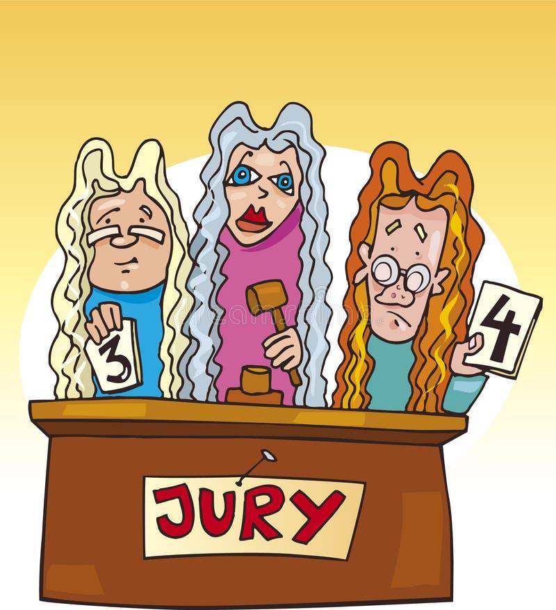 School Kids In Jury Stock Photos