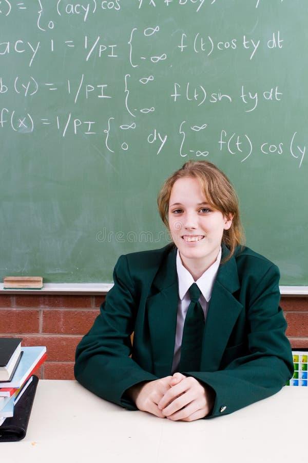 School-Kursteilnehmer stockfotografie