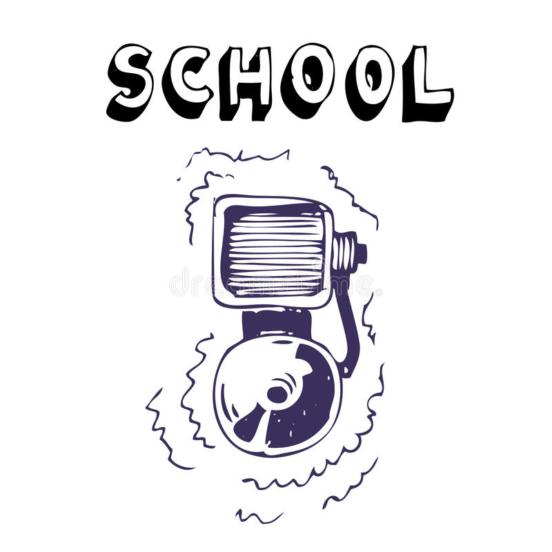 Download School lesson stock vector. Image of annoying, noise - 25155915