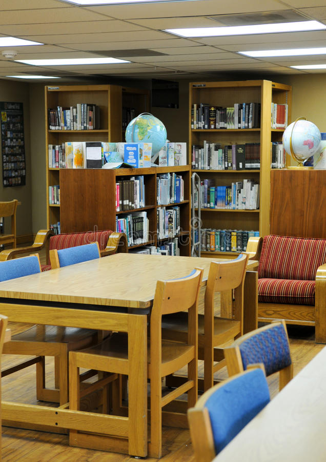 School Library stock photography