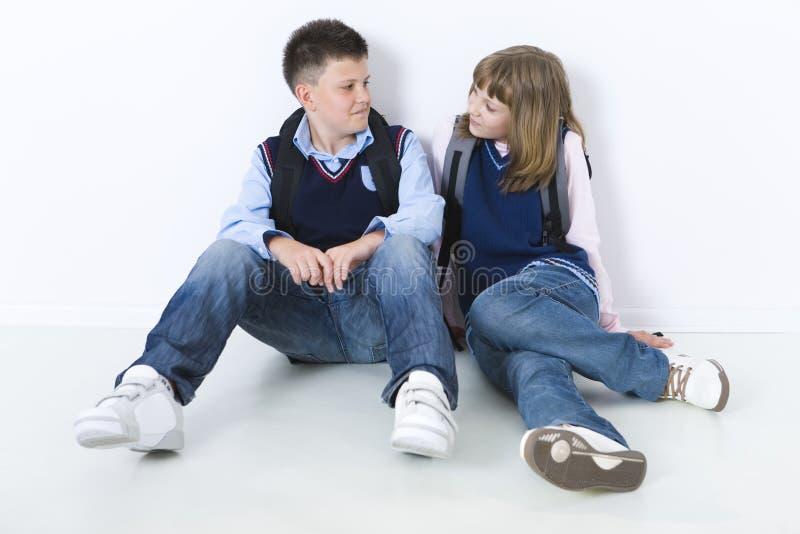 The school-love royalty free stock photos