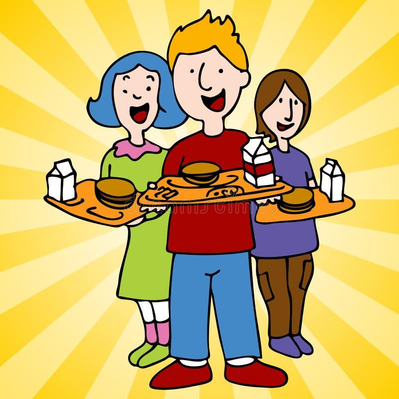 Download School Lunch Program stock vector. Image of clip, school - 18784137