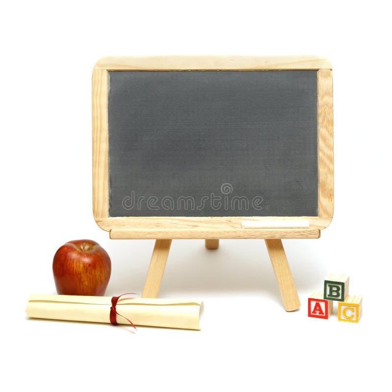 School Message Board stock image