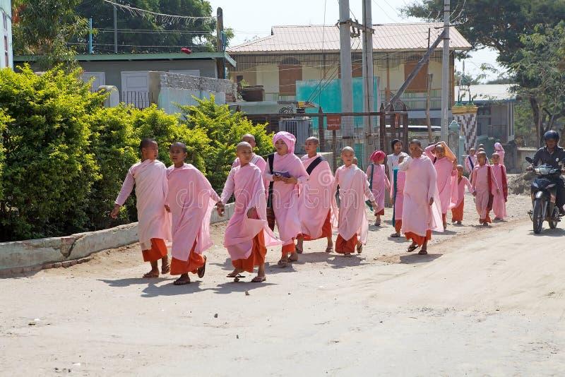 School in Myanmar royalty-vrije stock foto's