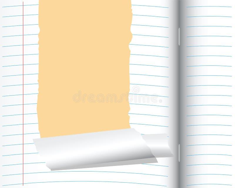 Download School notebook stock vector. Illustration of element - 25178819