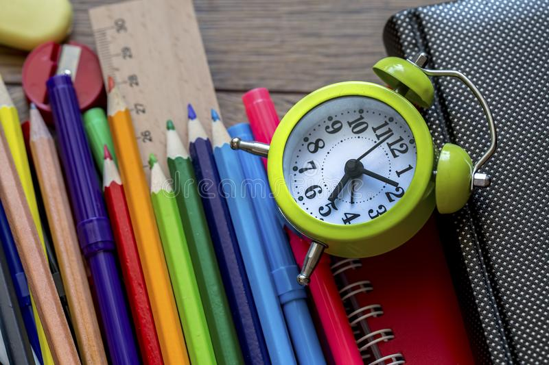 School and office equipment. stock photos