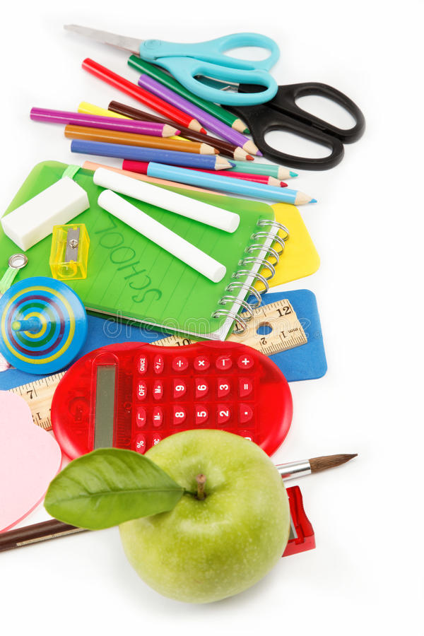 Download School And Office Supplies. Stock Photo - Image: 26544180