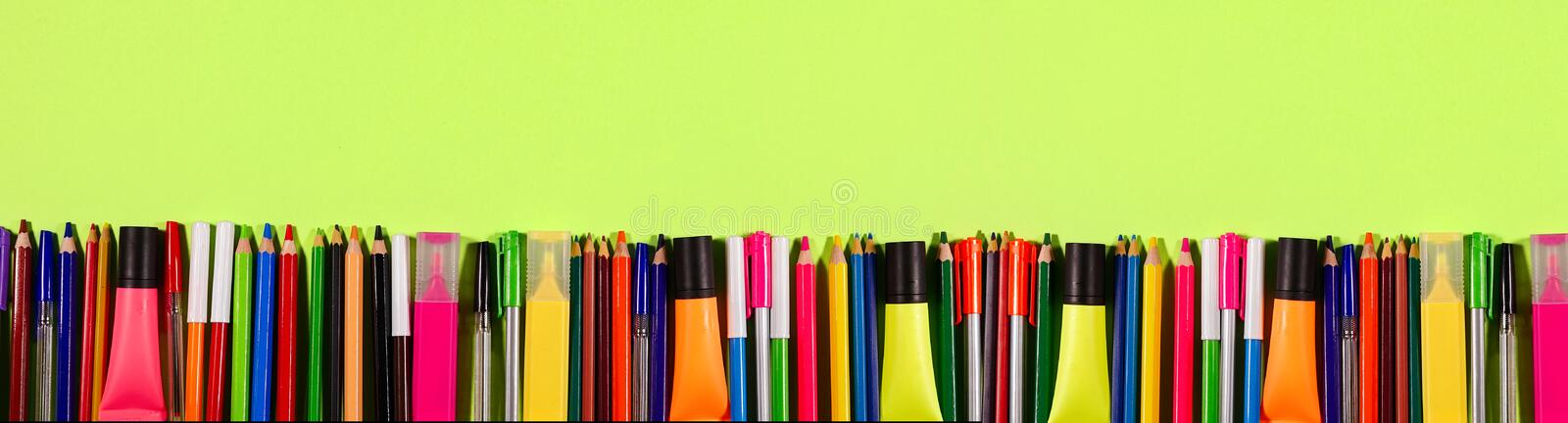 School and Office Tools royalty free stock image