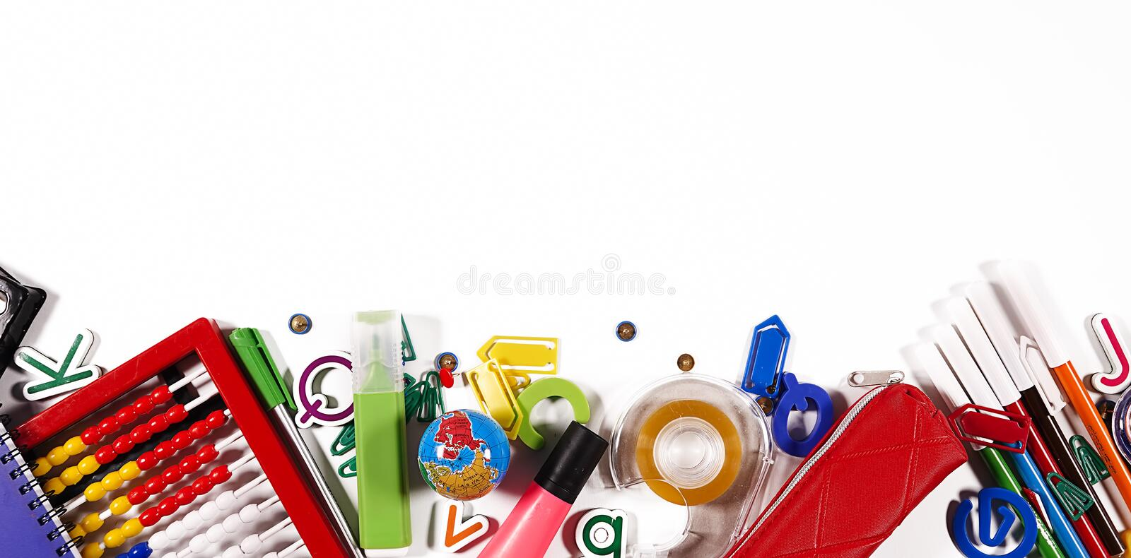School and Office Tools stock images