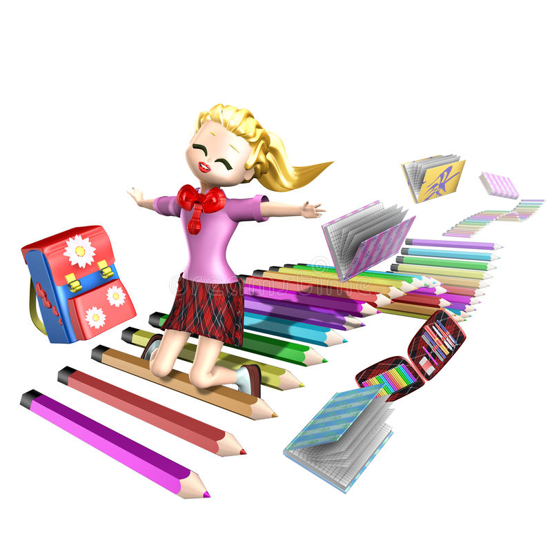 Download School preteen stock illustration. Image of children - 13117350