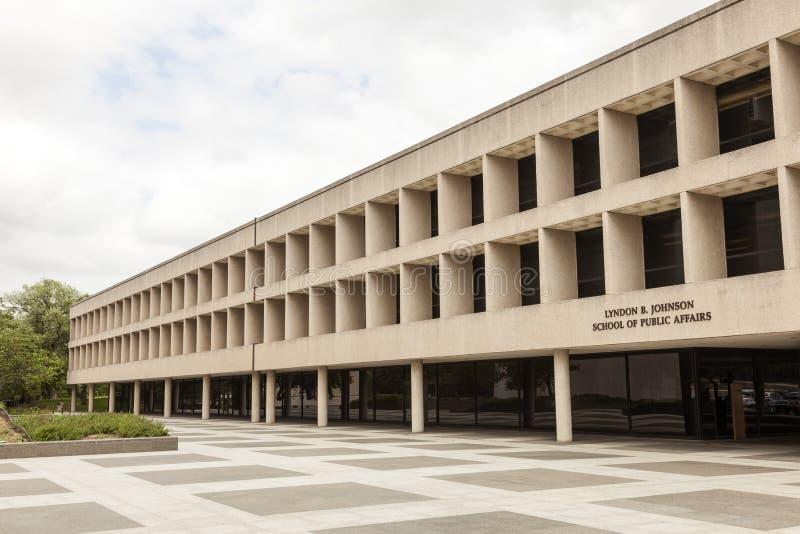 School of Public Affairs in Austin, Texas stock images