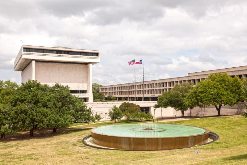 School of Public Affairs in Austin, Texas. AUSTIN, USA - APR 10: LBJ School of Public Affairs Campus. April 10, 2016 in Austin, Texas, United States stock images