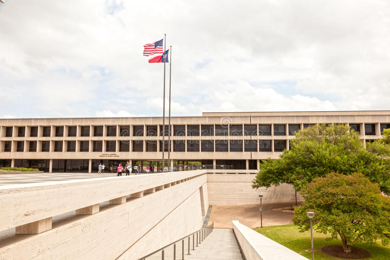 School of Public Affairs in Austin, Texas. AUSTIN, USA - APR 10: LBJ School of Public Affairs Campus. April 10, 2016 in Austin, Texas, United States stock photography