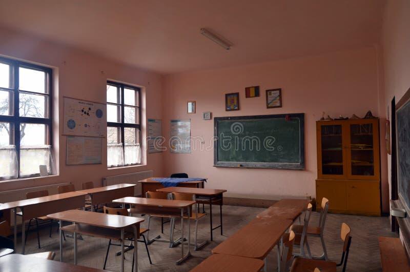 School in Roemenië stock fotografie