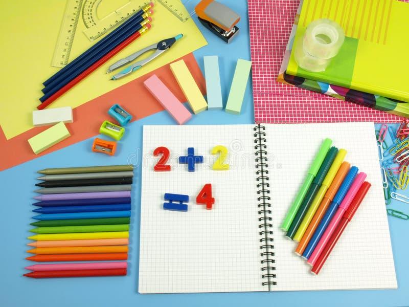 Download School set stock photo. Image of paper, children, math - 26326686