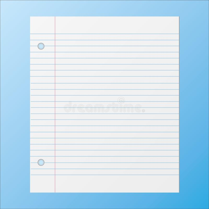 School sheet royalty free stock images