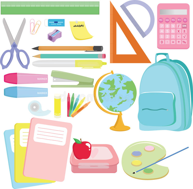 Download School Supplies Stock Image - Image: 16389891