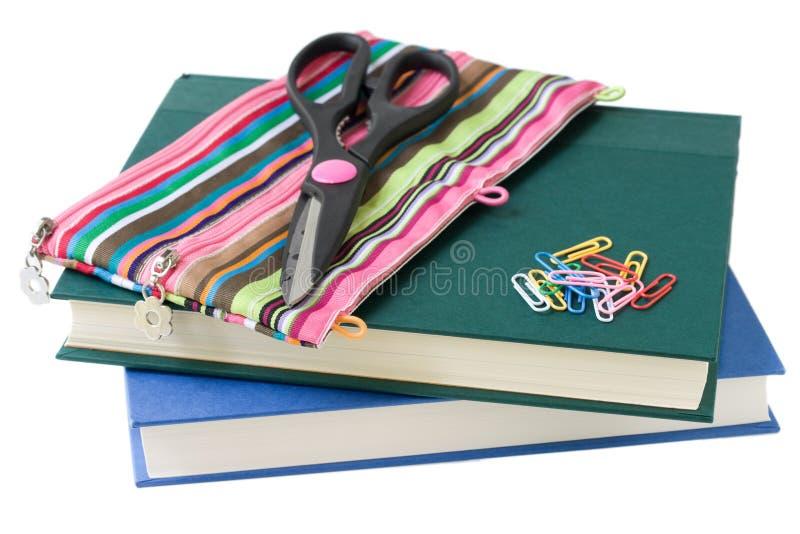 Download School supplies stock photo. Image of books, scissors - 6978022