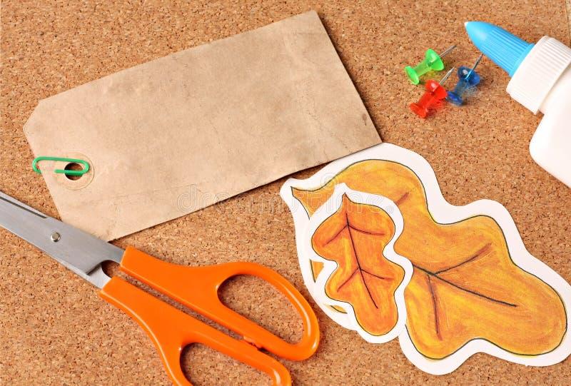 Download School supplies stock image. Image of scissors, material - 9934883