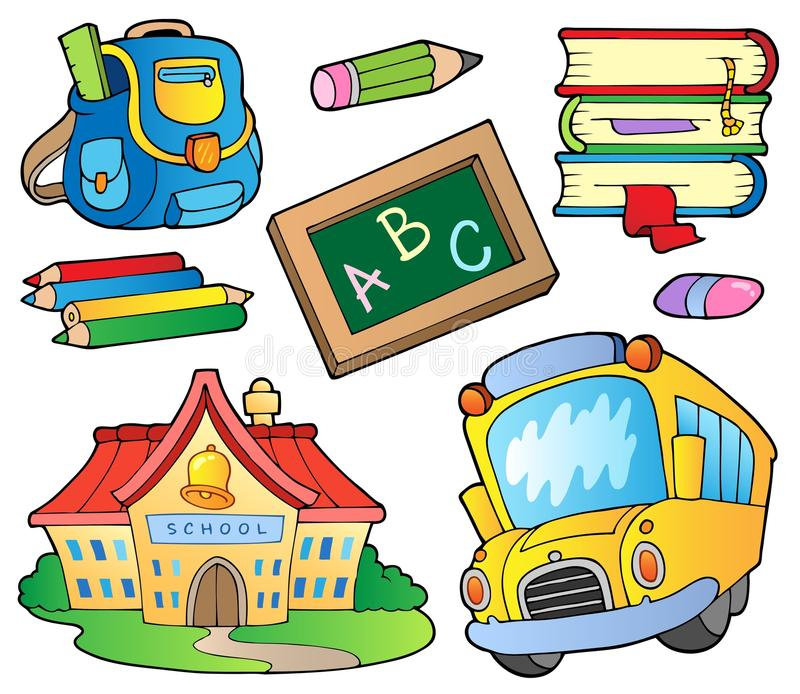 Download School Supplies Collection 1 Stock Vector - Image: 20737321