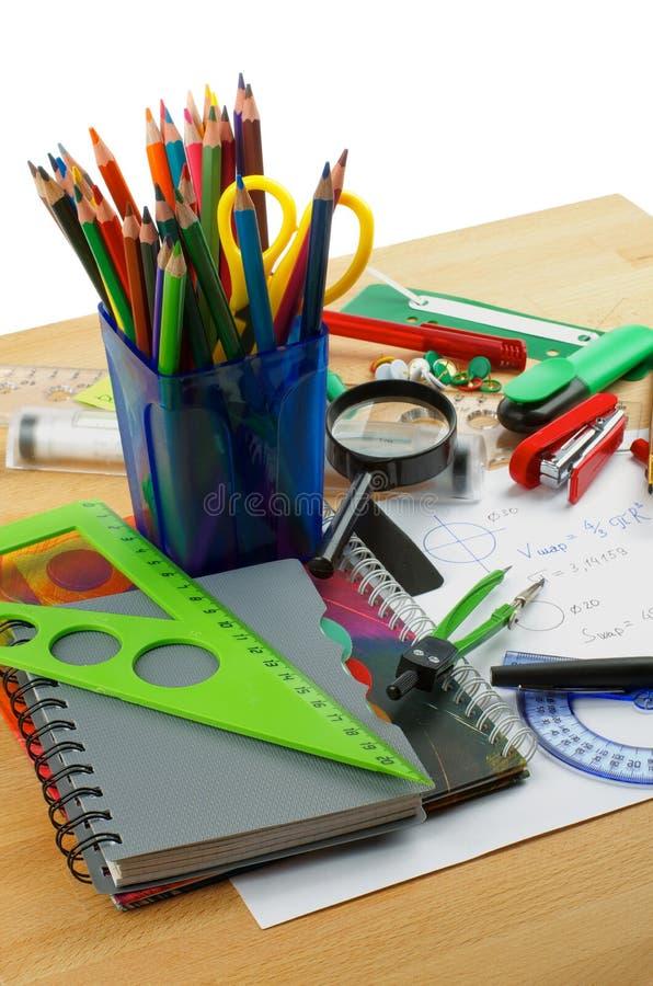 Download School Supplies stock illustration. Illustration of color - 31280638