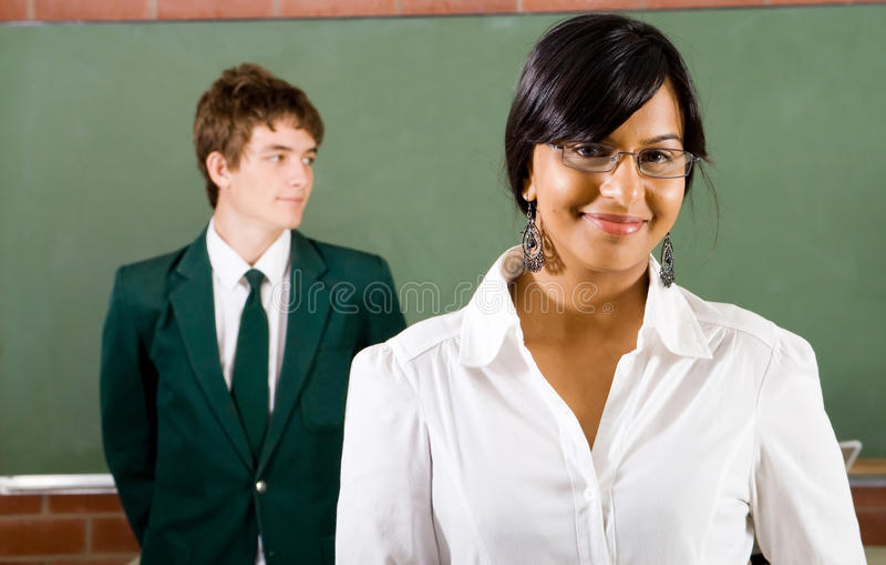 School teacher royalty free stock photo
