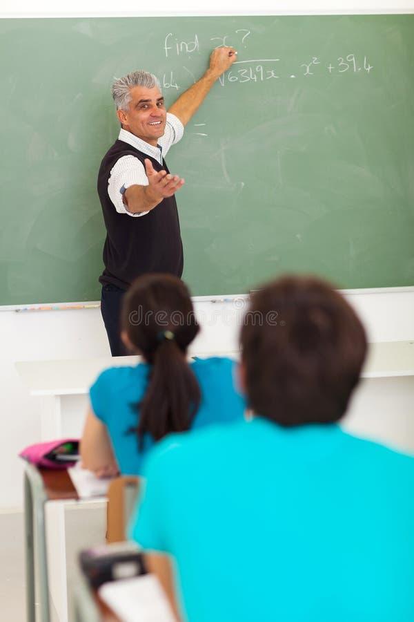 School teacher teaching stock photos