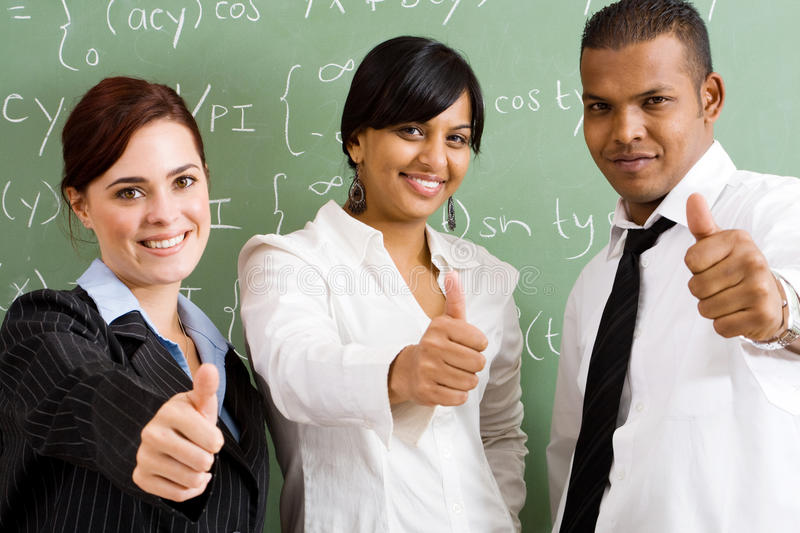 School teachers stock photos