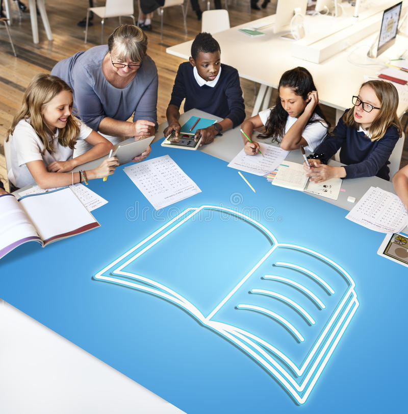School Teaching Students Education Concept stock photography