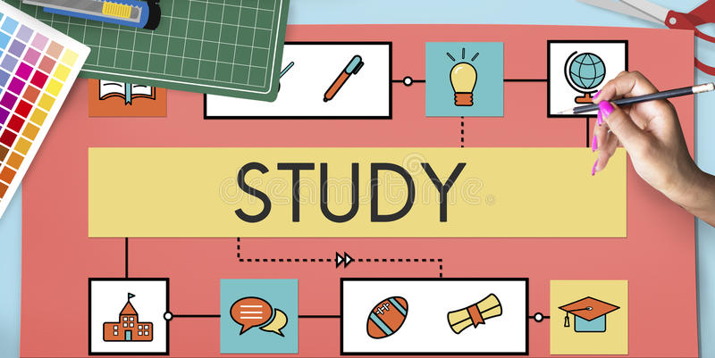 School Teaching Study Literacy Education Concept royalty free stock photo