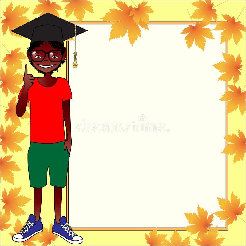 School Template Invitation Card Stock Vector Illustration of