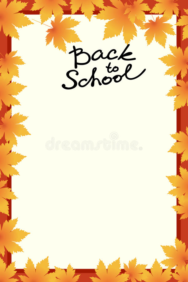 School template invitation card stock vector illustration of download school template invitation card stock vector illustration of autumn banner 75576035 stopboris Image collections