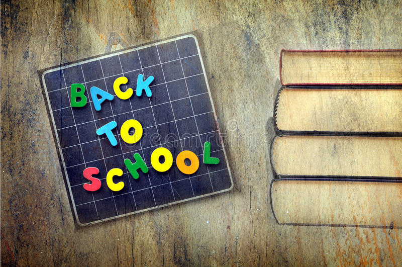 School time textured royalty free stock images
